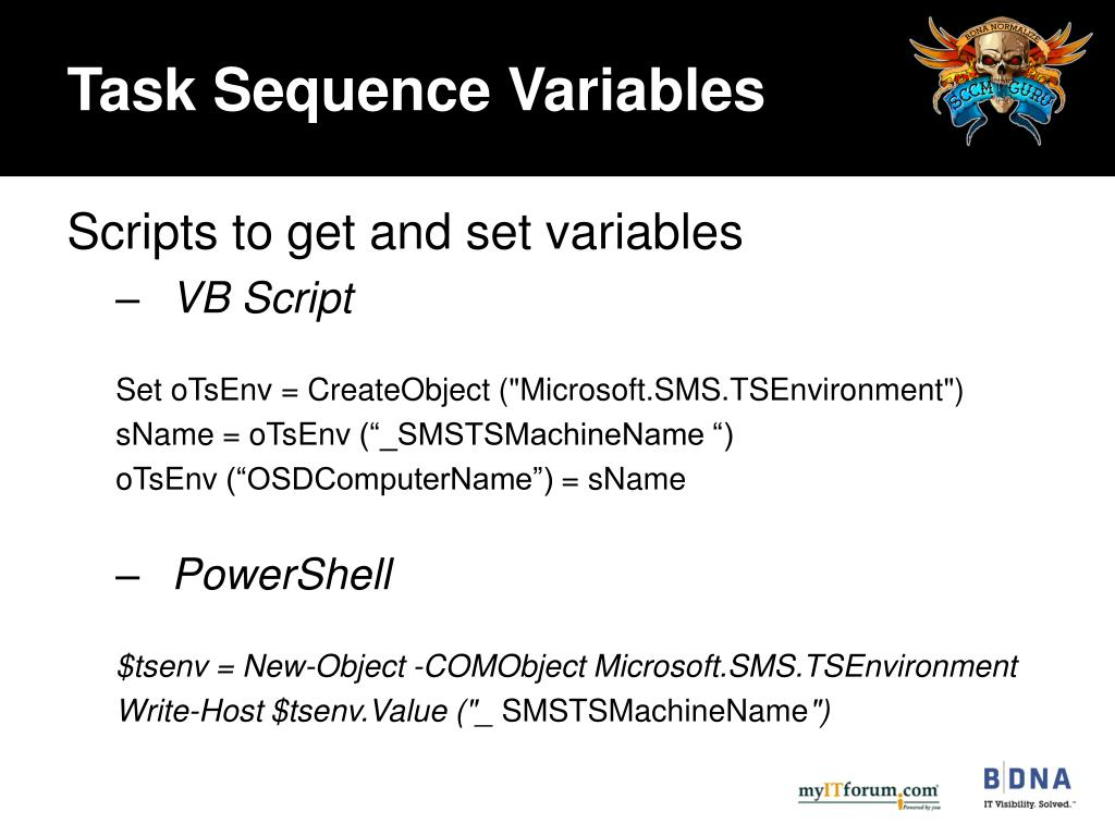 PPT - The Power of Task Sequences PowerPoint Presentation