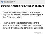 european medicines agency emea