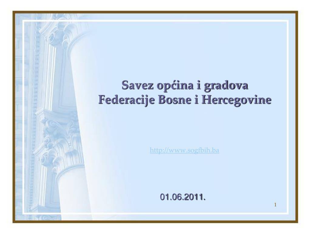 savez op ina i gradova federacije bosne i hercegovine http www sogfbih ba l.