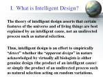 i what is intelligent design3