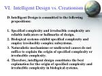 vi intelligent design vs creationism16