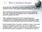 what is intelligent design5
