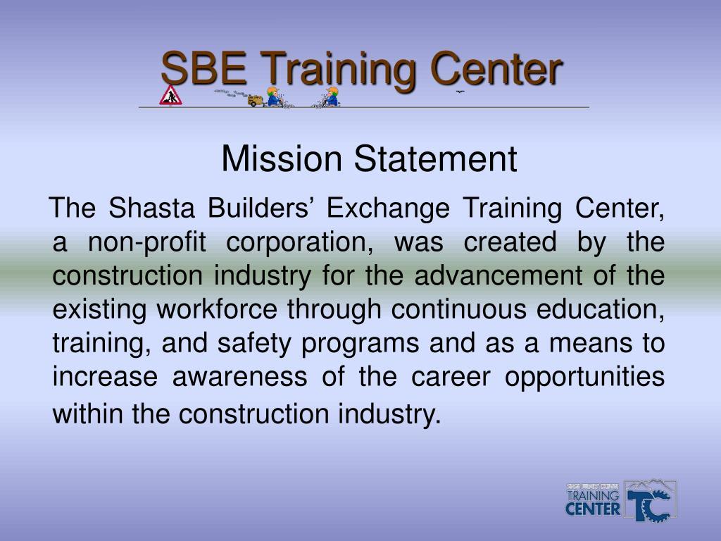 sbe training center l.