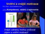 vnit n a vn j motivace23