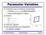 parameter variation