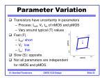 parameter variation25