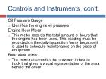 controls and instruments con t