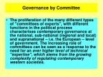 governance by committee