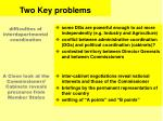 two key problems
