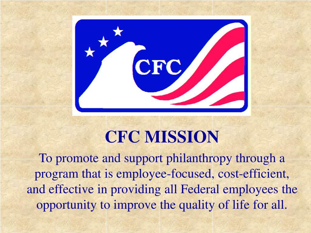 CFC MISSION