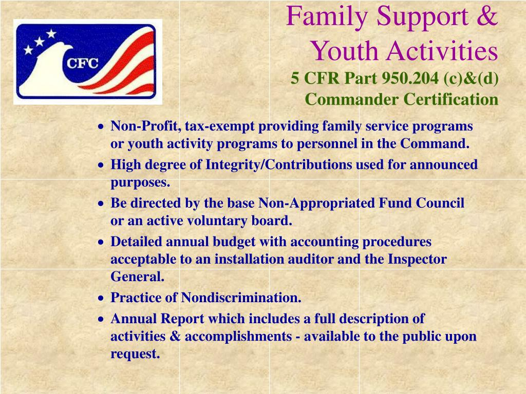 Family Support &