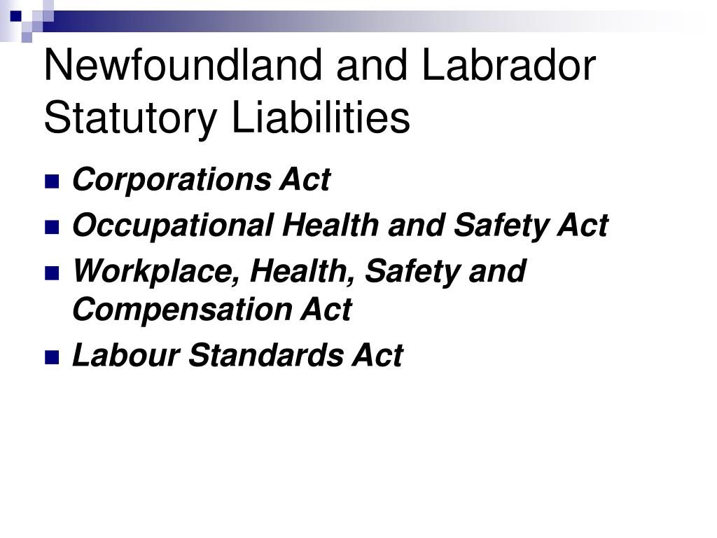 Newfoundland and Labrador