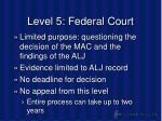 level 5 federal court35
