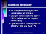 breathing air quality63