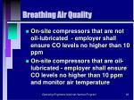 breathing air quality66