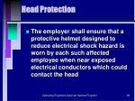 head protection96
