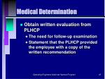 medical determination45