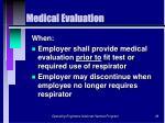 medical evaluation38
