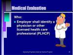 medical evaluation39