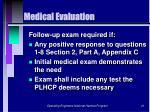 medical evaluation41