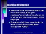 medical evaluation42
