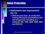 noise protection145