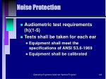 noise protection146