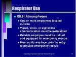 respirator use51