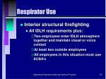 respirator use53