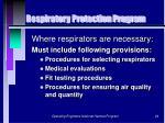 respiratory protection program24