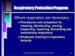respiratory protection program25