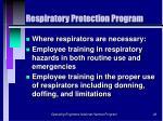 respiratory protection program26