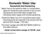 domestic water use household and gardening23