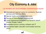 city economy jobs