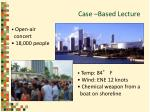 case based lecture