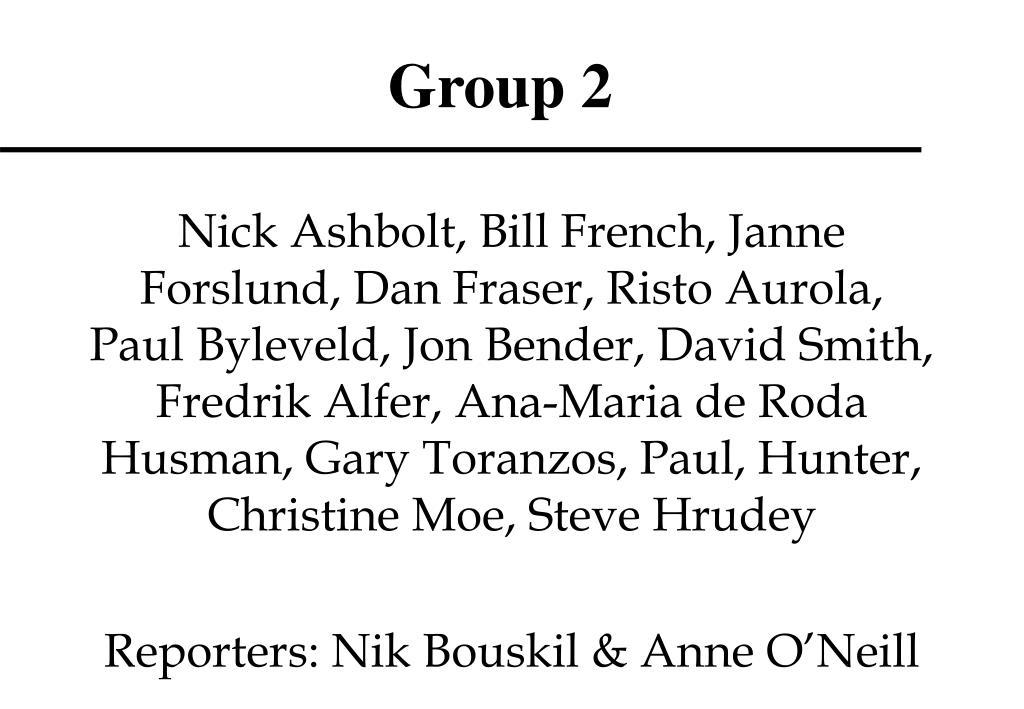 group 2 l.