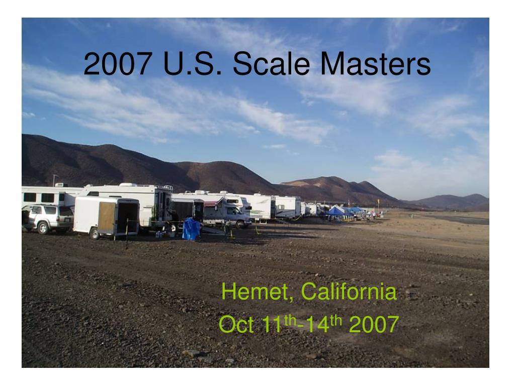 2007 u s scale masters l.