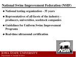 national swine improvement federation nsif