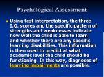 psychological assessment