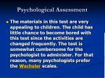 psychological assessment33