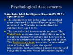 psychological assessments30