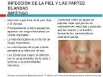 infecci n de la piel y las partes blandas imp tigo