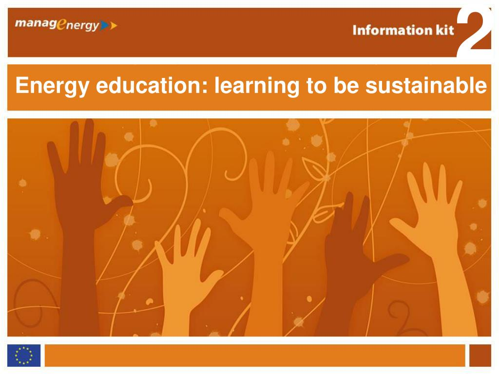energy education learning to be sustainable l.