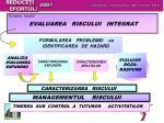 schema vizand evaluarea riscului integrat