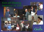 kick off meeting september 28 2000