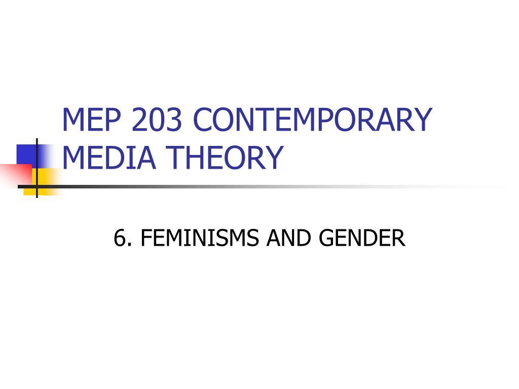 mep 203 contemporary media theory l.