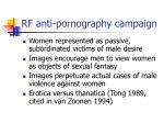 rf anti pornography campaign