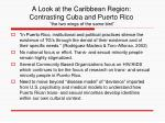 a look at the caribbean region contrasting cuba and puerto rico the two wings of the same bird14