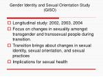 gender identity and sexual orientation study giso