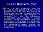 question 46 answer cont32